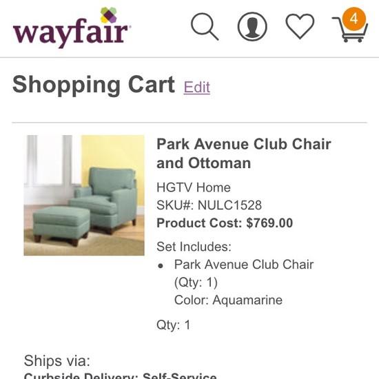 Warefair Com: Wayfair's Mobile E-Commerce Usability, Score: 413