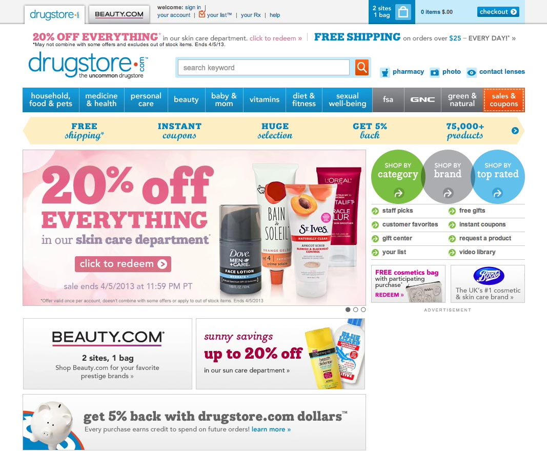 Found 5 products across 1 categories showing 1 5 products - 5 Design Homepage Ads Very Carefully