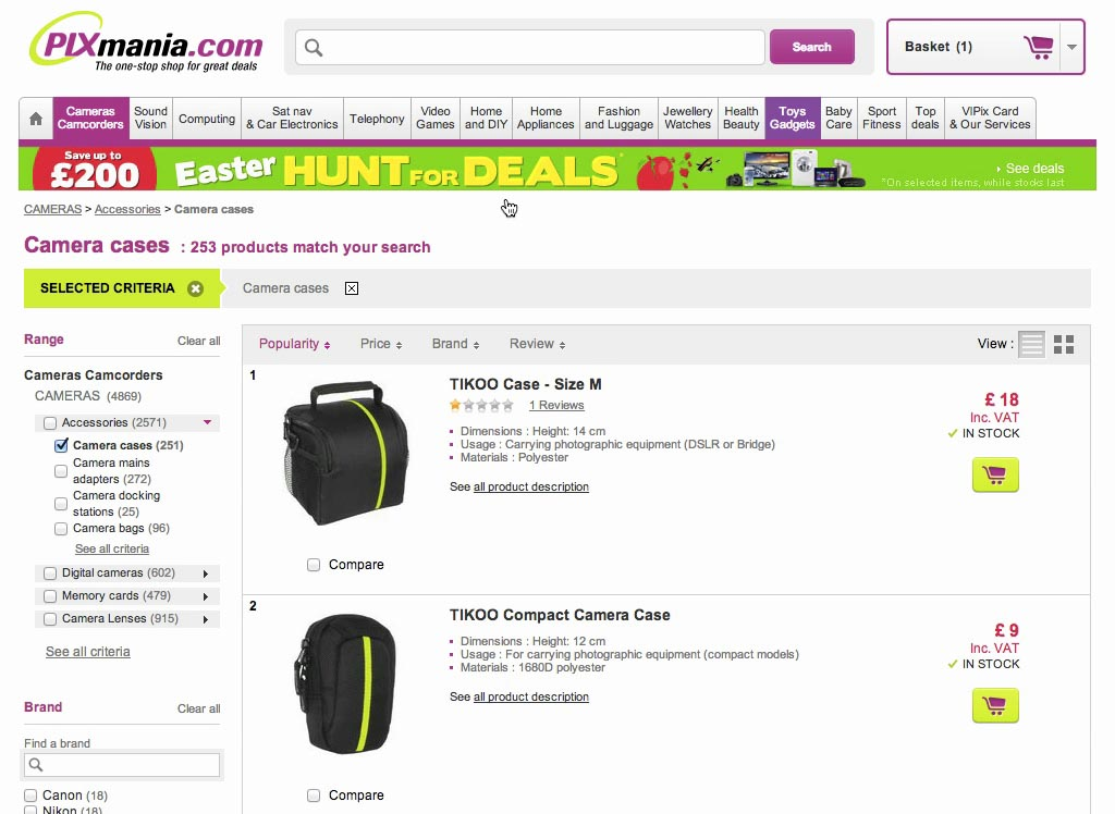how to find what ecommerce platform a website uses