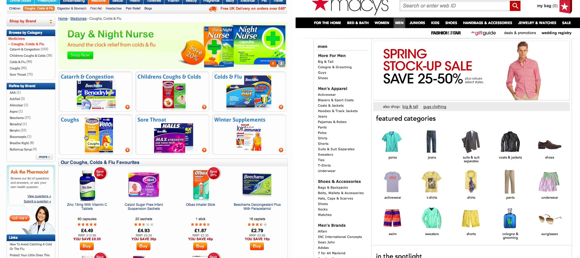 Found 5 products across 1 categories showing 1 5 products - When To Have Intermediary Category Pages
