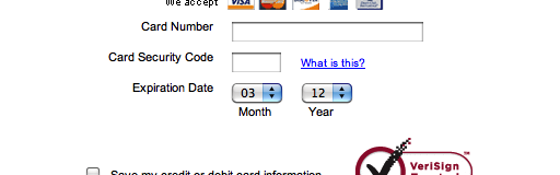 how to know what month a credit card expires