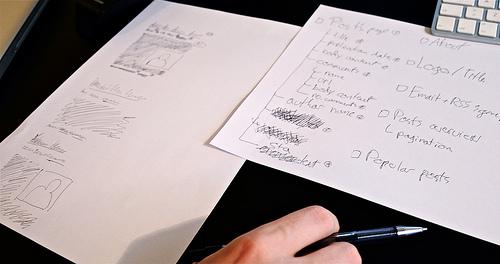 Initial drafts for posts on baymard.com blog