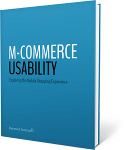 M-Commerce Usability report with 147 design guidelines.