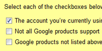 Google is making sure people understand the implications of using multiple Google accounts before enabling this feature.