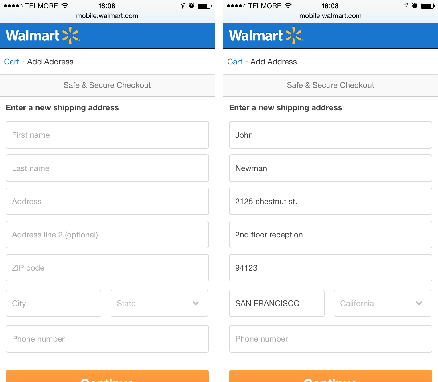 E-Commerce Checkouts Need to Mark Both Required and Optional ...