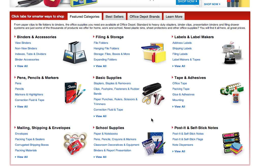 Sub Sub Category Links: a Vital Feature in E Commerce