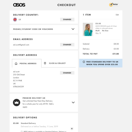 117 Examples of 'Account' Checkout Steps - Baymard Institute