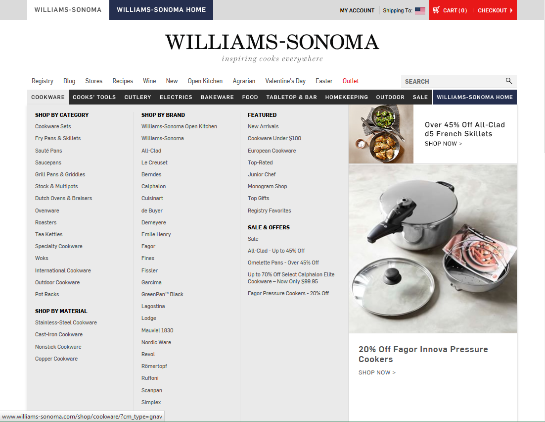 williams sonoma case study essay Business essays: williams sonoma/ hbr search  these competing retailers pose a number of threats to williams-sonoma according to the case study these stores have .