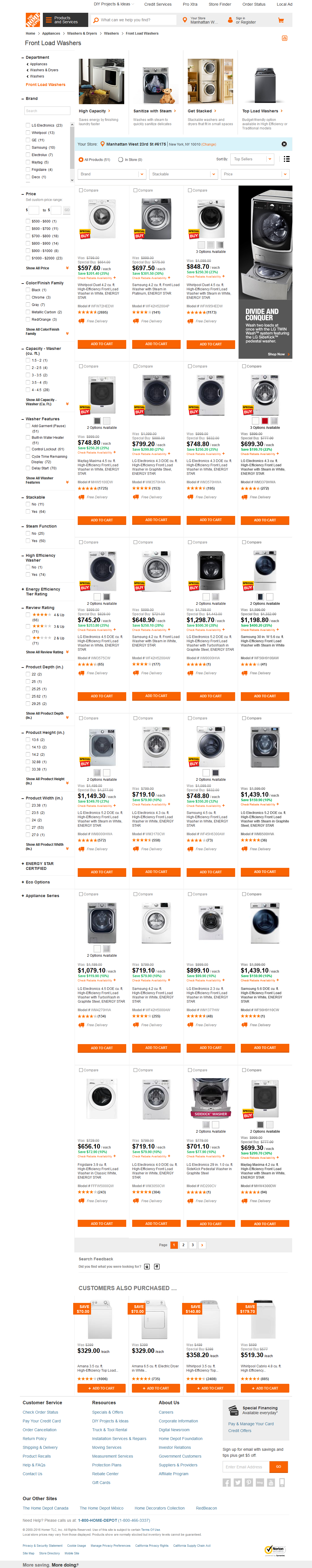 Home Depot s Homepage & Categories Usability Score 1104