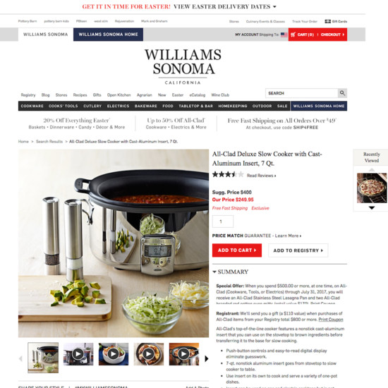 williams sonoma case study Describes williams-sonoma's development of a third channel of business on the  internet describes the strategies for managing changes in the organizational,.