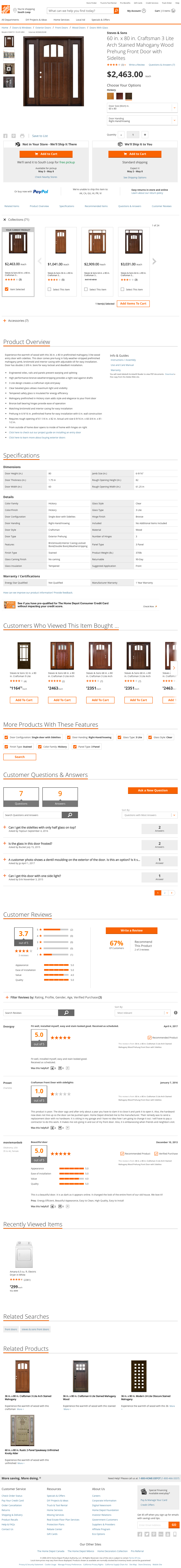 Home Depots Product Page Usability Benchmark Score