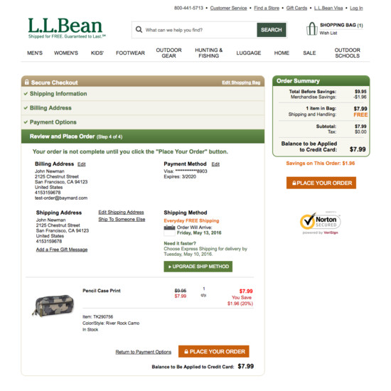 l l bean case analysis Vrio analysis for l l bean inc paper case study identified the four main attributes which helps the organization to gain a competitive advantages the author of this theory suggests that firm must be valuable, rare, imperfectly imitable and perfectly non sustainable.