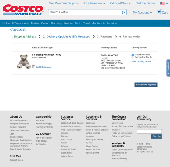 Costcos Checkout Process Usability Benchmark Score 138