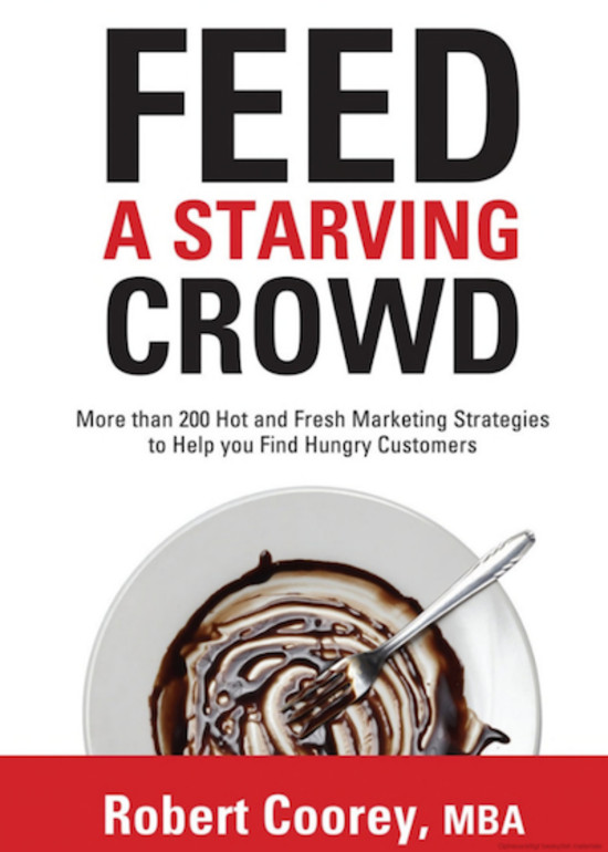 Author of 'Feed A Starving Crowd' Logo
