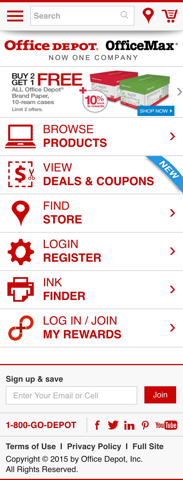Office depot services register new product - Tip Navigate Using The Arrows On The Left And Right Of The Page