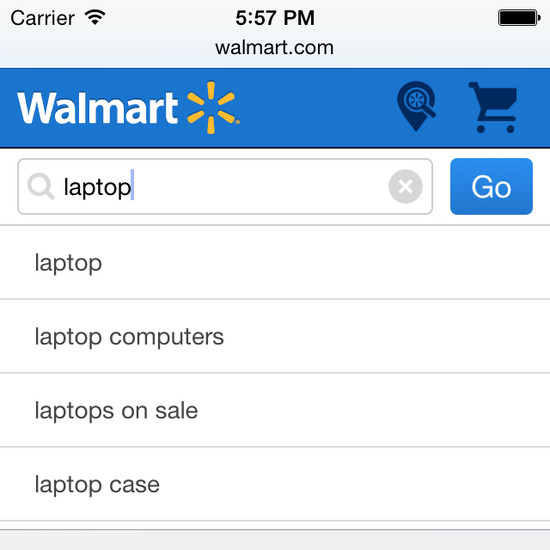 walmart website evaluation A conversation with walmart ceo doug mcmillon  they want to go online to  see hundreds of millions of items and to find anything they're looking for.