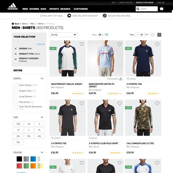 Zalando 120 'Product Page' Design Examples Baymard Institute