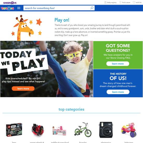 Toys R Us E Commerce Ux Case Study Baymard Institute