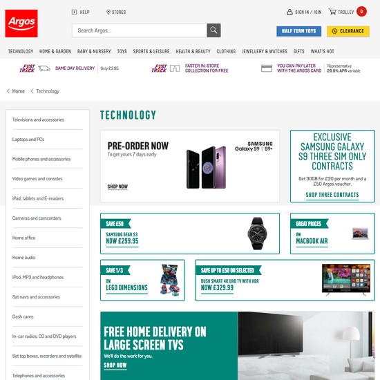 203 'Intermediary Category Page' Design Examples - Baymard