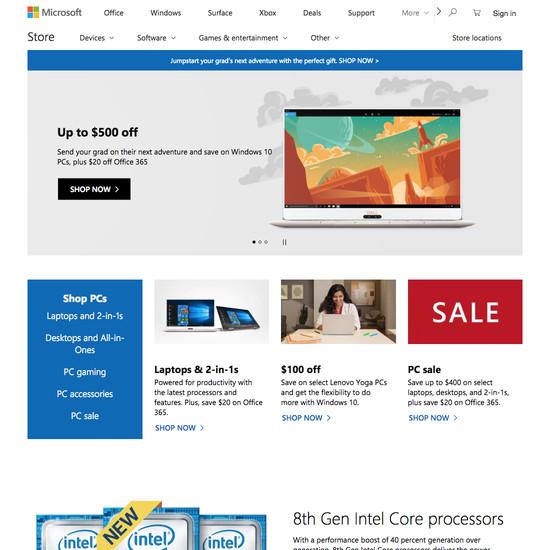 Microsoft E-Commerce UX Case Study - Baymard Institute