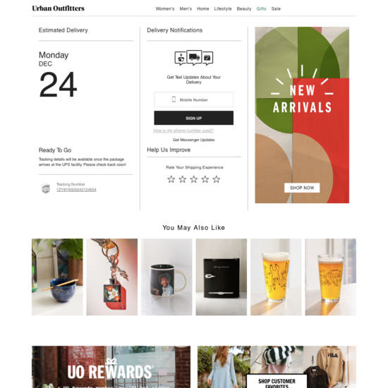 41 'Order Tracking Page' Design Examples - Baymard Institute