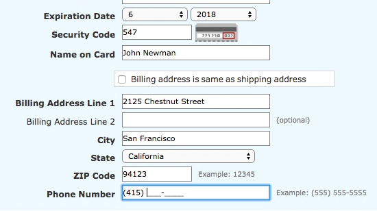 Form Field Usability: Consider Using Localized Input Masks for