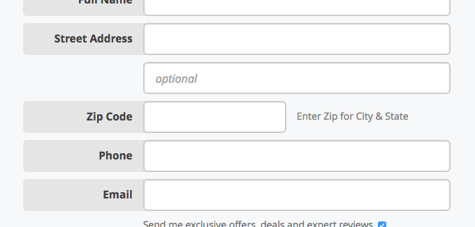 Checkout Usability: Auto-Detect 'City' and 'State' Inputs Based on