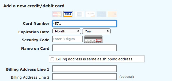 The 'Credit Card Number' Field Must Allow and Auto-Format