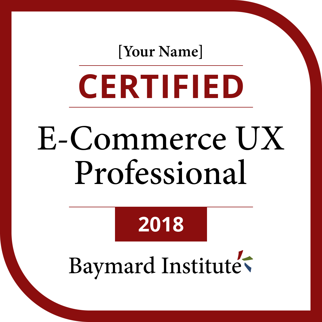 Certified E Commerce Ux Professional Exams And Certification