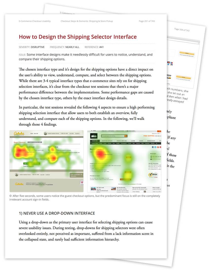 E-Commerce Checkout Usability: An Original Research Study - Cart ...