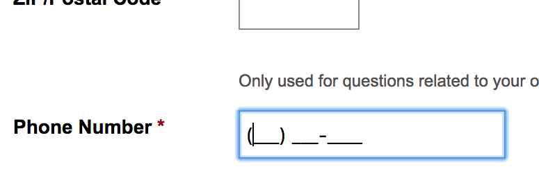 Form Field Usability Consider Using Localized Input Masks For