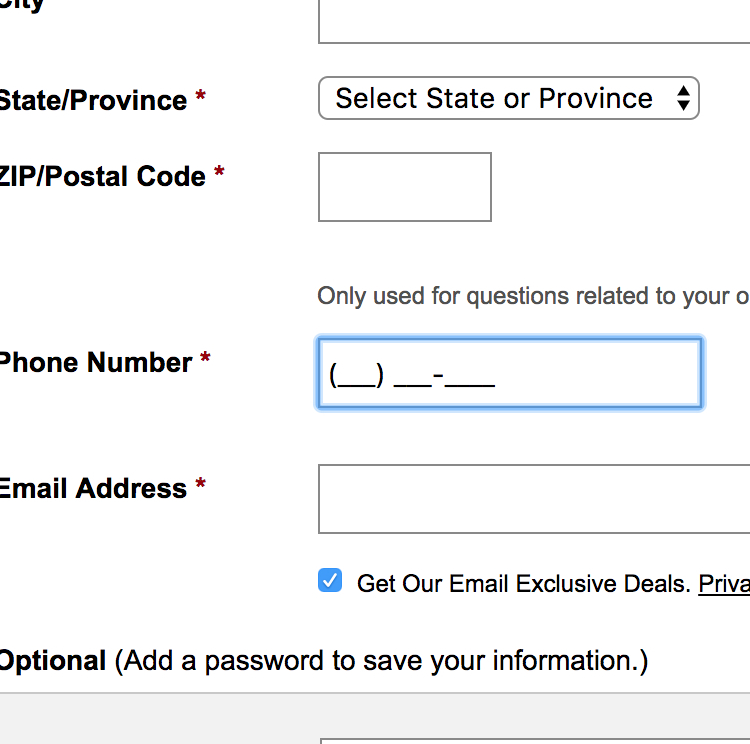 Form Field Usability: Consider Using Localized Input Masks