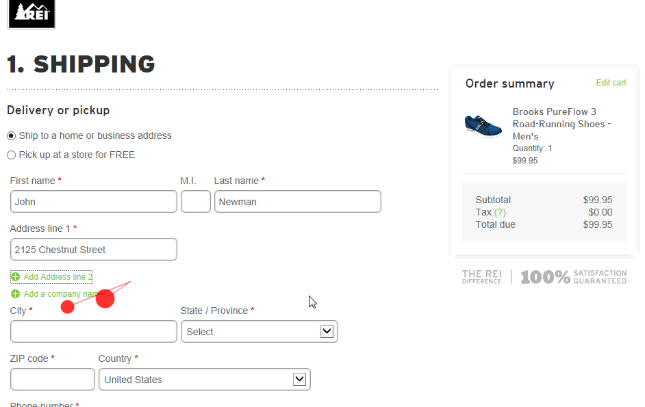 Form Usability: Getting 'Address Line 2' Right - Articles - Baymard