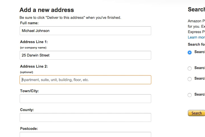Form Usability: Getting 'Address Line 2' Right - Articles